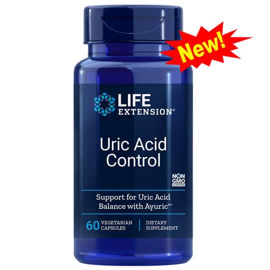 Kiểm Soát Bệnh Gút – Uric Acid Control, Chiết Xuất Terminalia Bellerica (cây chiêu liêu)